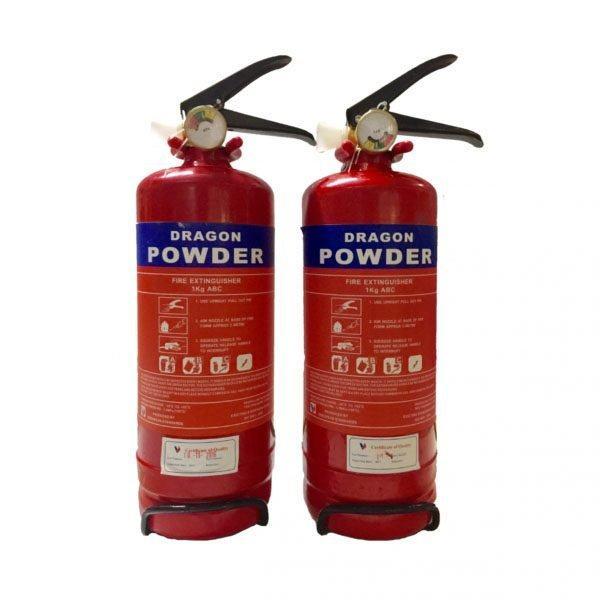 Bình bột chữa cháy BC 1kg Dragon Powder0