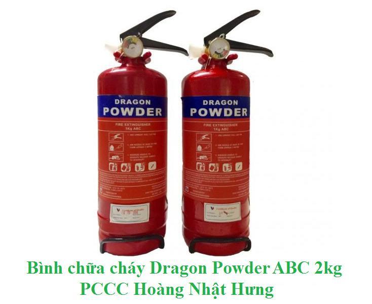 Bình bột chữa cháy Dragon Powder ABC 2kg