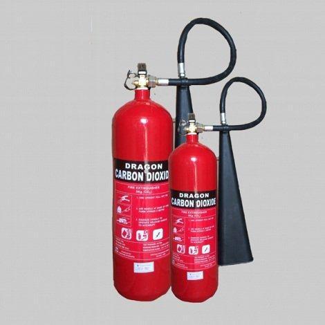 Bình chữa cháy khí CO2 Dragon MT2 2kg0