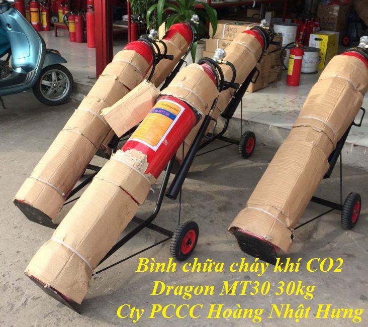 Bình chữa cháy khí CO2 Dragon MT30 30kg
